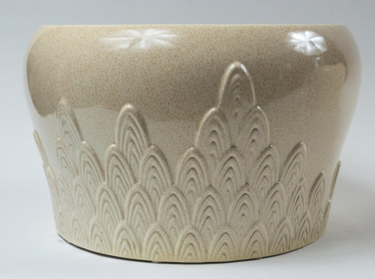 Pair of Ceramic Planters, Tommaso Barbi, Italy, Mid-20th Century In Good Condition For Sale In Chappaqua, NY