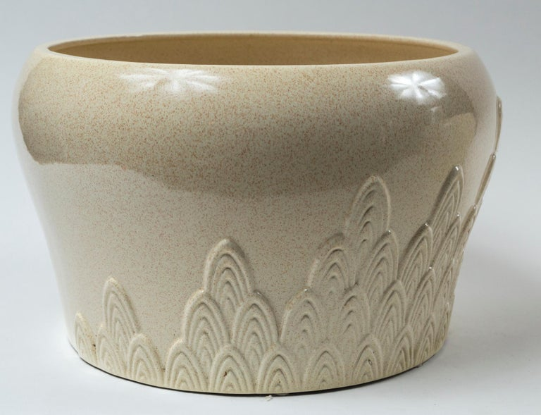 Pair of Ceramic Planters, Tommaso Barbi, Italy, Mid-20th Century For Sale 1