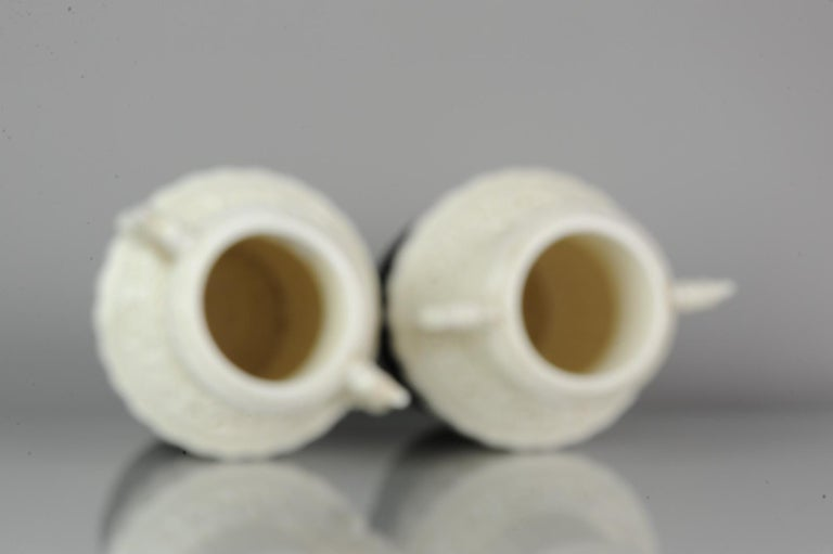 Pair of Chinese 1978 Dehua Monochrome White Porcelain Vases China PRoC For Sale 10