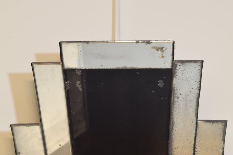 Pair of Continental Art Deco Wall Mirrors, Second Quarter of the 20th Century 4