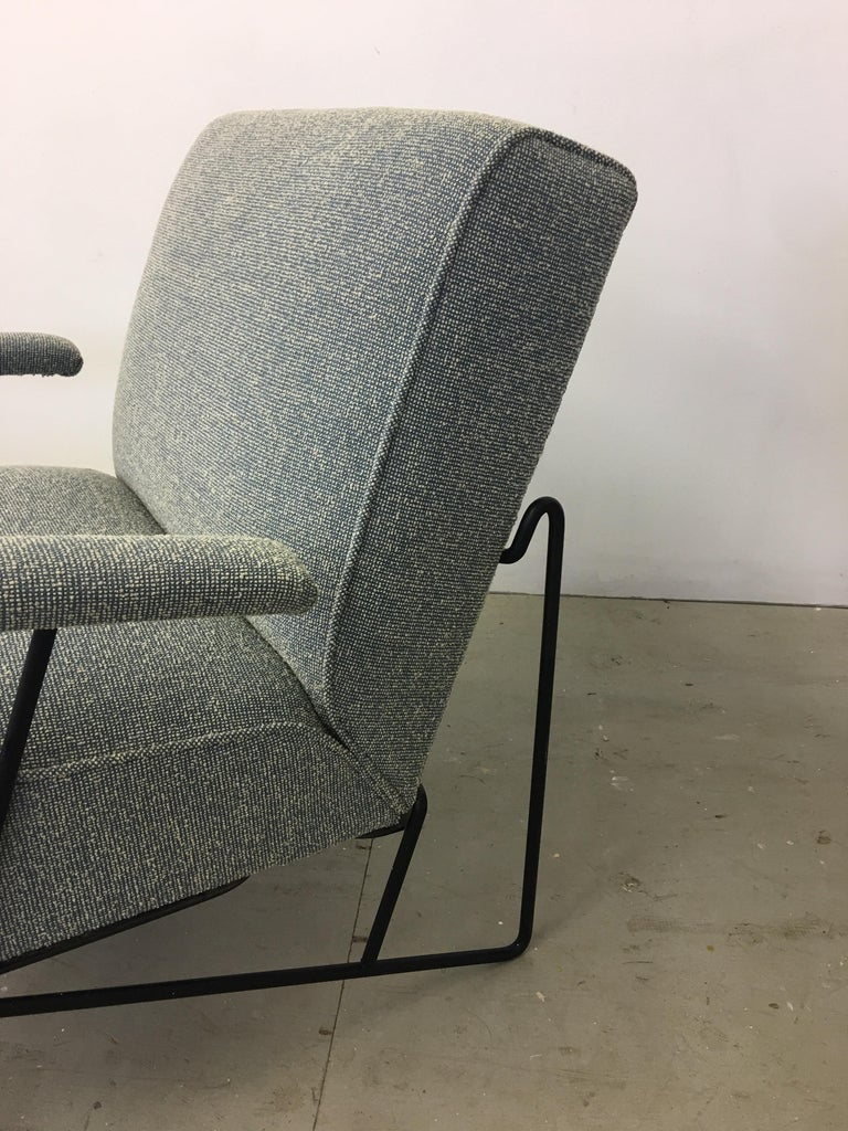 Pair of Dan Johnson Lounge Chairs for Pacific Iron For Sale 6
