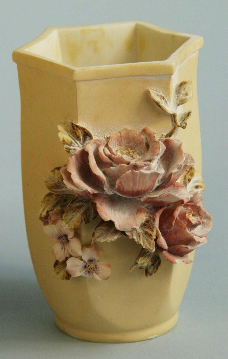 Epoxy Resin Pair Desine Resin Hand Painted Garden  Vases For Sale