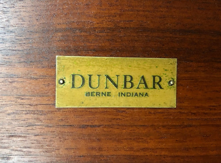 Pair of Dunbar Janus End Tables with Tiffany Tiles For Sale 6