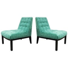 Pair of Dunbar Mid Century Lounge Chairs by Edward Wormley