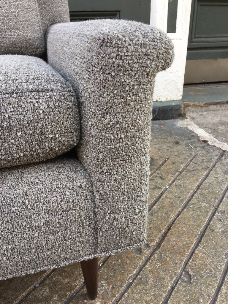 Pair of DUX Lounge Chairs, Newly Upholstered For Sale 3
