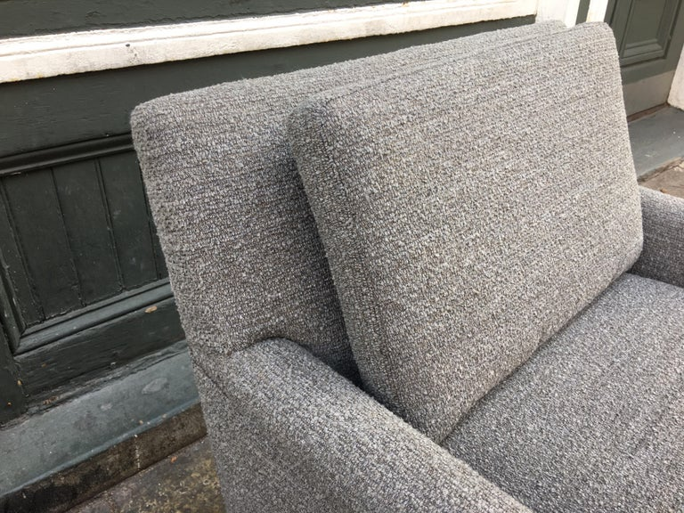 Pair of DUX Lounge Chairs, Newly Upholstered For Sale 4