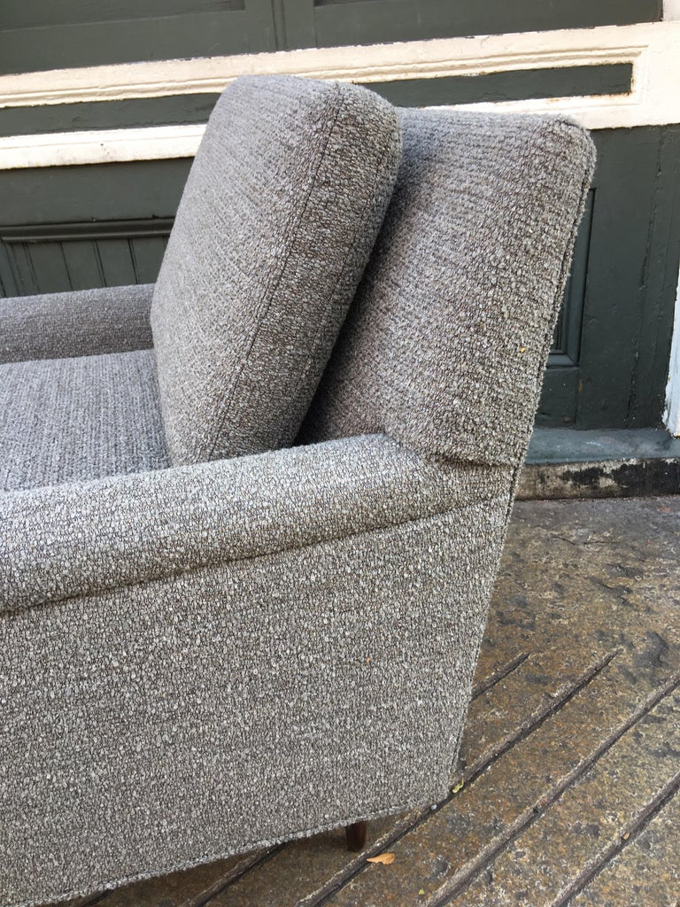 Mid-20th Century Pair of DUX Lounge Chairs, Newly Upholstered For Sale