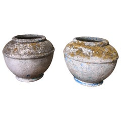 Pair of Early 20th Century French Planter Urns