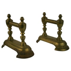 Pair of English Brass Architectural Elements