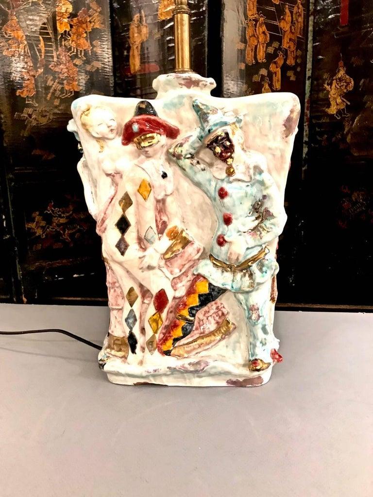 Ceramic Pair of Eugenio Pattarino