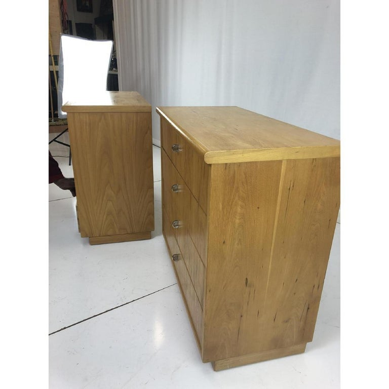 Pair of Founders Mid-Century Modern Bachelors Chests, Commodes or Nightstands For Sale 1