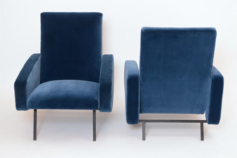 Pair of French Midcentury Armchairs, circa 1950 In Excellent Condition For Sale In London, GB