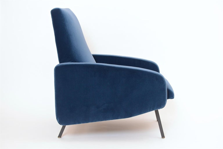 Pair of French Midcentury Armchairs, circa 1950 For Sale 2