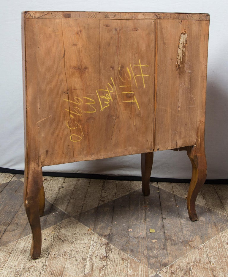 Pair of Fruitwood Bedside Commodes For Sale 3