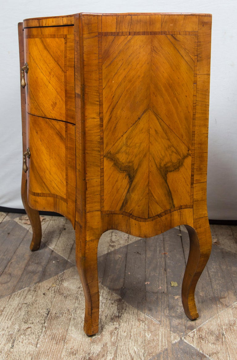 Pair of Fruitwood Bedside Commodes For Sale 2