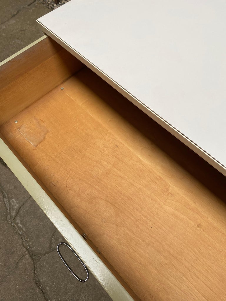 Pair of George Nelson for Herman Miller Steel Frame Dressers For Sale 7