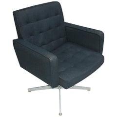 Pair of GF Executive Swivel Lounge Armchairs