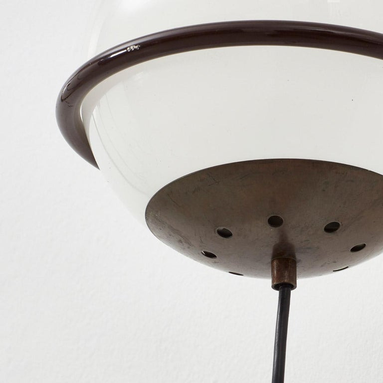 Modern Pair Gino Sarfatti 238/1 Wall Lamps for Arteluce, Italy, 1952 For Sale