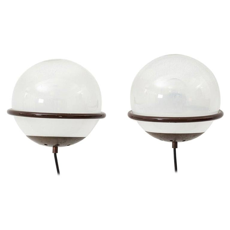 Pair Gino Sarfatti 238/1 Wall Lamps for Arteluce, Italy, 1952 For Sale