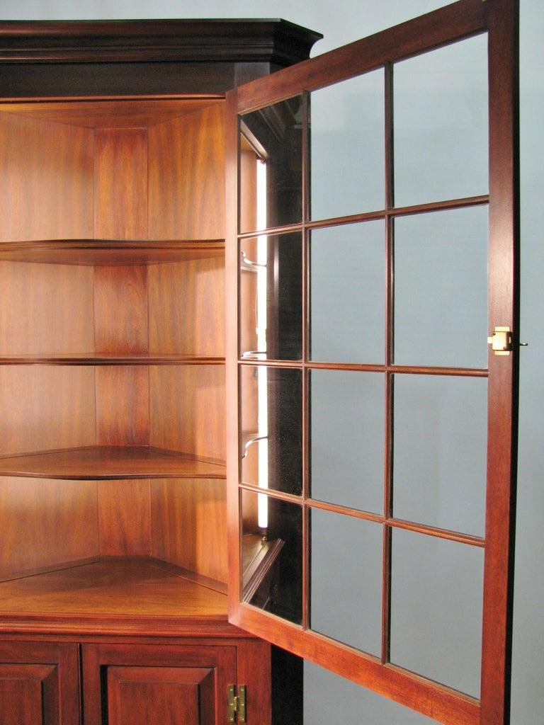 Pair Henkel Harris Virginia Galleries Mahogany Federal