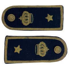 Pair of Italian Military Epaulettes