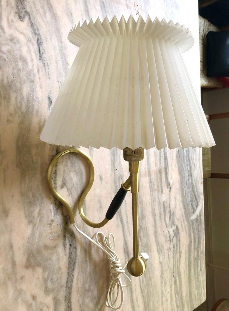 Danish Pair Kaare Klint 306 Lamps for Le Klint For Sale