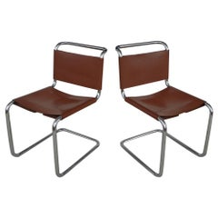 Pair Knoll Spoleto Chairs