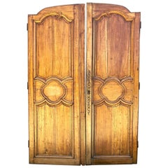 Pair Large 18th Century French Doors