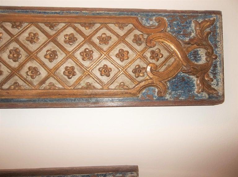 Pair Louis XVI Style Overdoor or Supraporta Bosierie Fragments For Sale 6