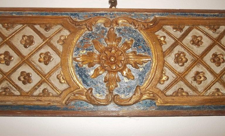 Pair Louis XVI Style Overdoor or Supraporta Bosierie Fragments For Sale 8