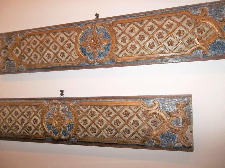 Pair Louis XVI Style Overdoor or Supraporta Bosierie Fragments For Sale 1