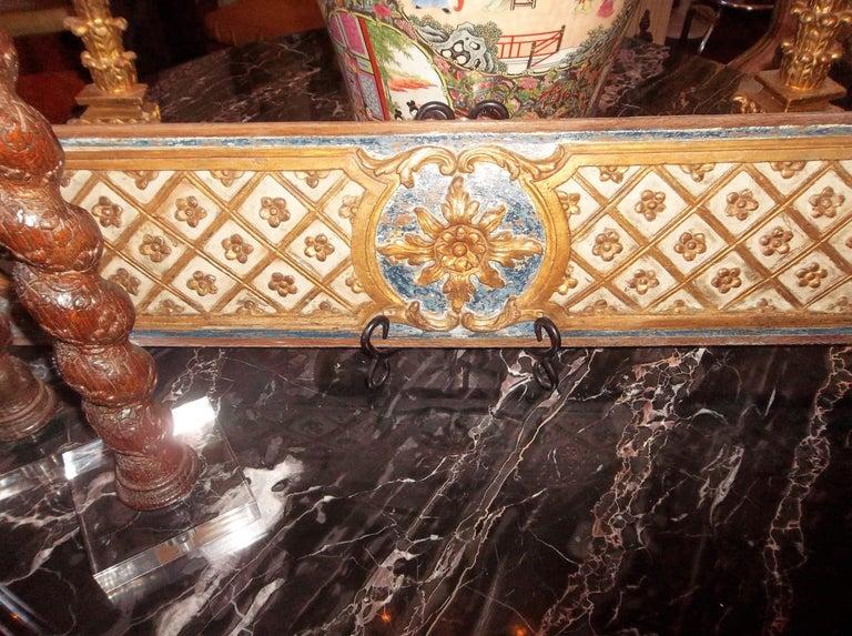 Pair Louis XVI Style Overdoor or Supraporta Bosierie Fragments For Sale 2
