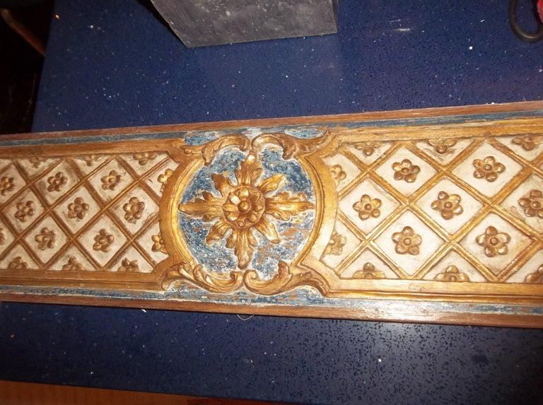 Pair Louis XVI Style Overdoor or Supraporta Bosierie Fragments For Sale 3