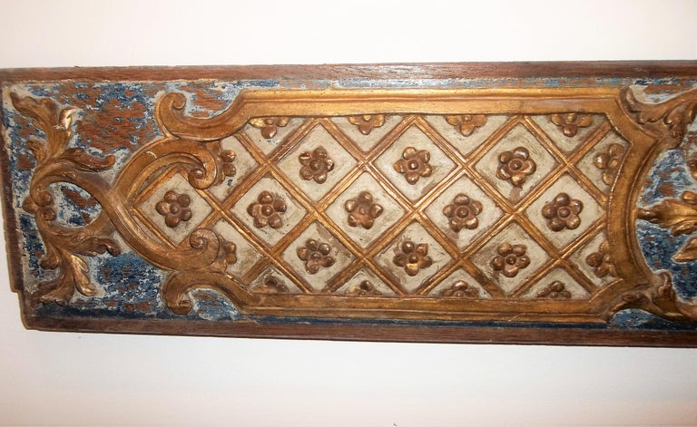 Pair Louis XVI Style Overdoor or Supraporta Bosierie Fragments For Sale 4