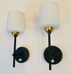 Pair Lunel French 1960s Wall Lights