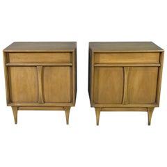 Pair of Mahogany Side Tables