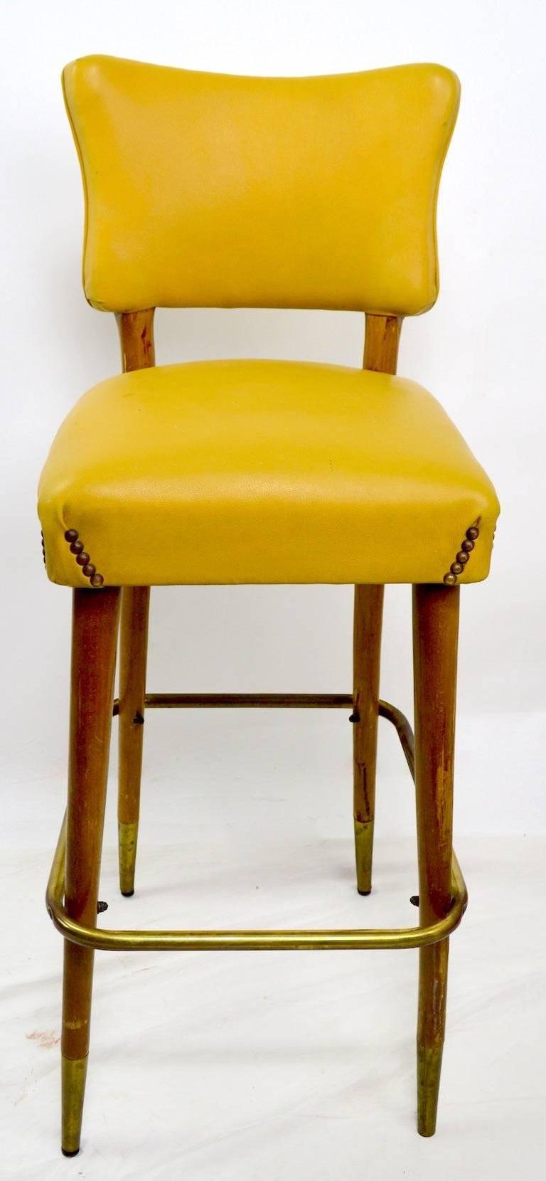 Pleasing Mid Century Bar Counter Stool Cjindustries Chair Design For Home Cjindustriesco