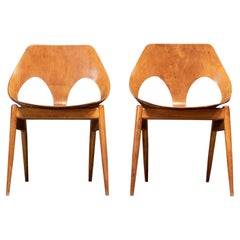 Pair Mid Century 'Carl Jacobs' Chairs for Kandya