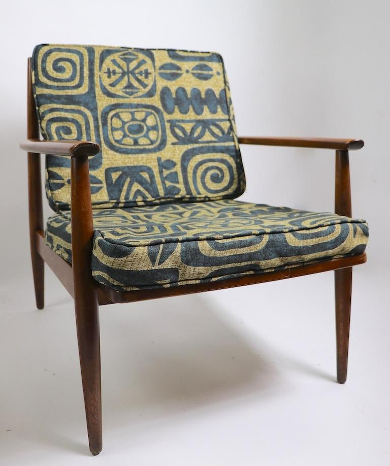 20th Century Pair of Mid Century  Lounge Chairs by Baumritter For Sale
