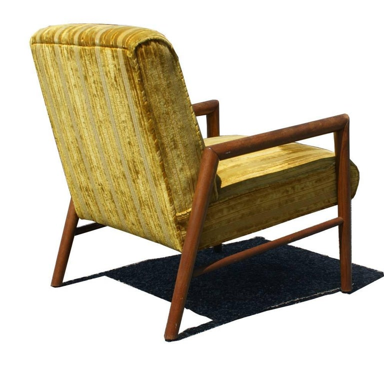 American Pair of Midcentury T.H. Robsjohn Gibbings Arm Lounge Chairs For Sale
