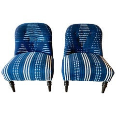Pair of Napoleon III Style Chairs