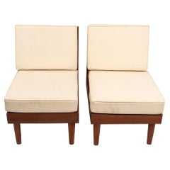 Pair of New Hope Style Lounge Chairs