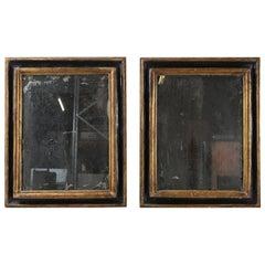 Pair of 1790s Spanish Giltwood Mirrors