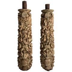17th Century Pedestals and Columns