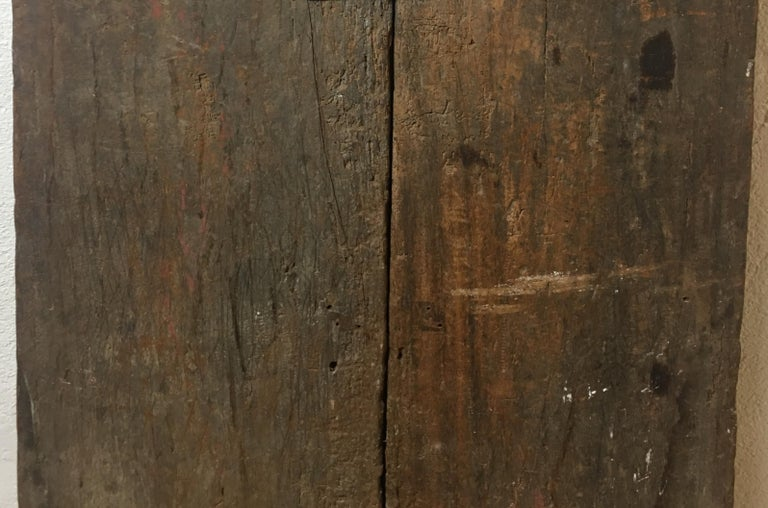Pair of 17th Century Chinese Carved Doors or Panels For Sale 2