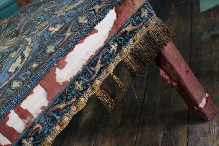 Pair of 17th Century Style Chairs by George Trollope & Son For Sale 6