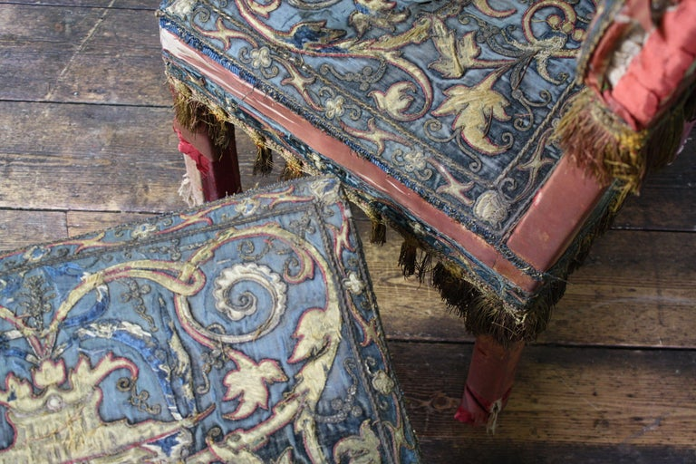 Pair of 17th Century Style Chairs by George Trollope & Son For Sale 10