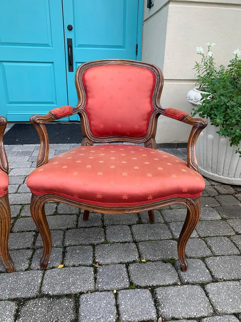 Pair of 18th-19th Century Italian Armchairs For Sale 13