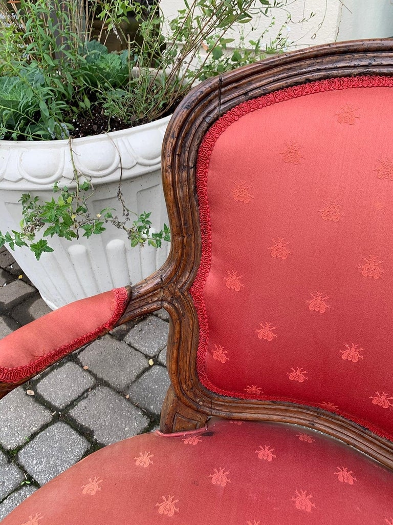 Pair of 18th-19th Century Italian Armchairs For Sale 5
