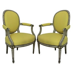 Pair of 18th Century Armchairs